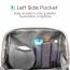 Mini Travel Makeup Zipper Pouch Image 2