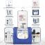 Custom Unisex Toiletry Bag with Hanging Hook Image 1