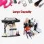 Transparent Makeup Bag with Handle Image 2