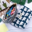 Printed Travel Organizer Pouch with Zipper Image 3