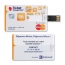 2GB Credit Card USB Flash Drive Image 1