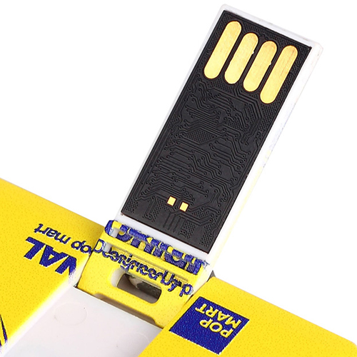 2GB Credit Card USB Flash Drive