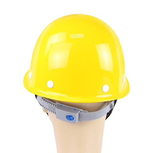 Fiberglass Safety Helmet With Head Harness Image 3