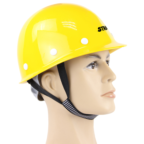 Fiberglass Safety Helmet With Head Harness Image 4