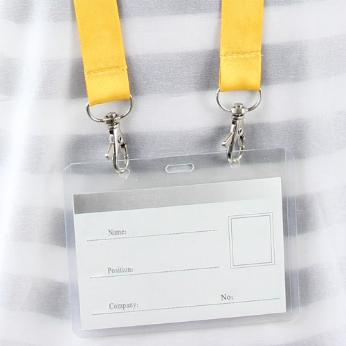 Double Metal Hook Lanyard Image 7