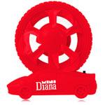 Wheel On Car Shape Mini Fan