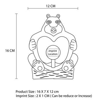 Mini Bear Rechargeable USB Fan
