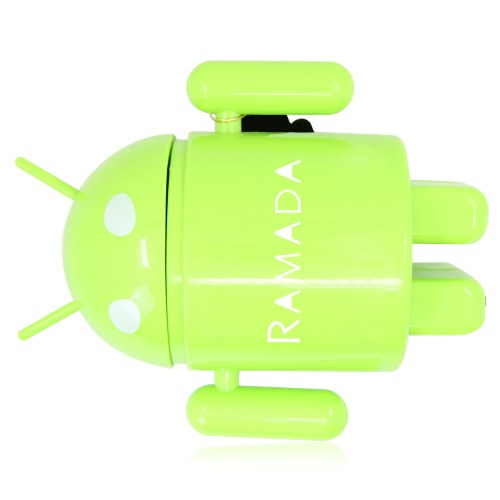 Android Robot Rechargeable Desk Lamp