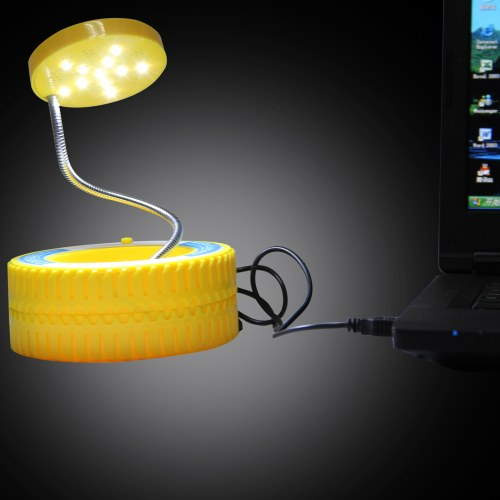 Tire Shape Rechargeable Table Lamp