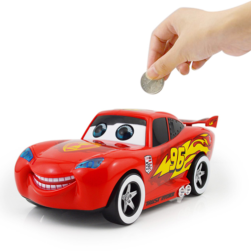 Car Shape Blink Coin Bank