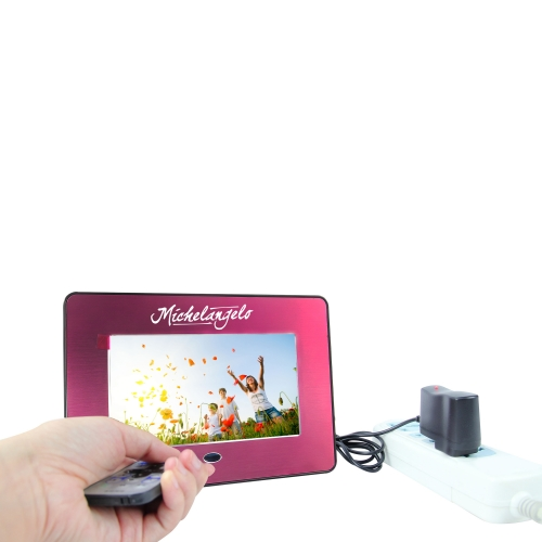8 Inch Metallic Digital Photo Frame Image 4