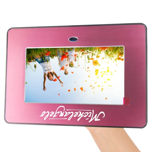 8 Inch Metallic Digital Photo Frame Image 6