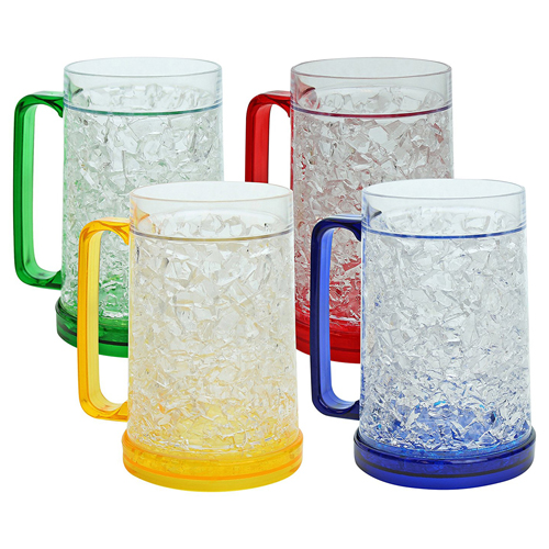 480ML Double Wall Freezer Gel Filled Mug Image 3