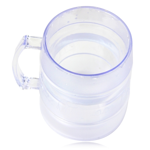 320ML Clear Ice Freezer Mug