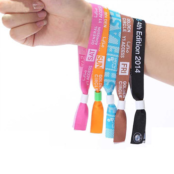 Snap Closure Wrist Band