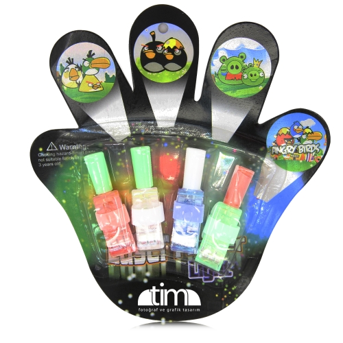Four Finger Projector Optic  Lights