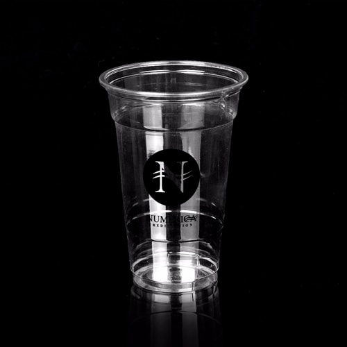 10 oz Crystal Clear Drinking Cup Image 1