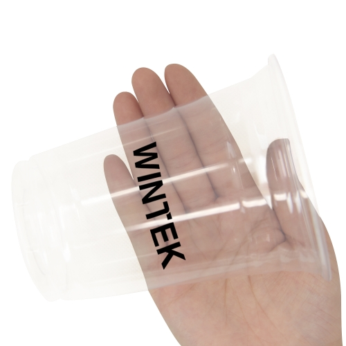 12 Oz Clear Transparent Plastic Cup