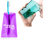 Transparent Combo Toothbrush Wash Cup