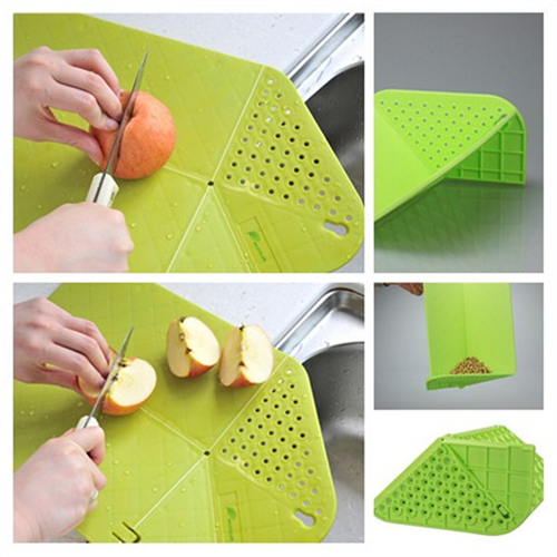 Drain Foldable Cutting Board
