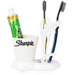 Modern Toothbrush & Tooth Paste Holder