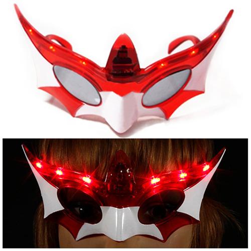 Mask Flashing Light Sunglasses