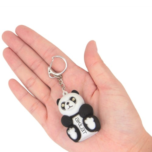 Panda Light keychain With Sound