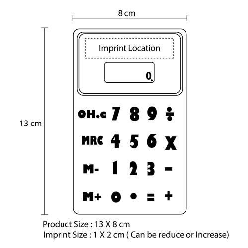 Silicon Magnetic Back Calculator Image 10
