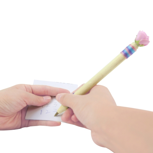 Fancy Rose Wooden Pen