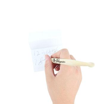 Drum Stick Shape Wooden Ballpoint Pen