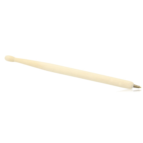 Drum Stick Shape Wooden Ballpoint Pen