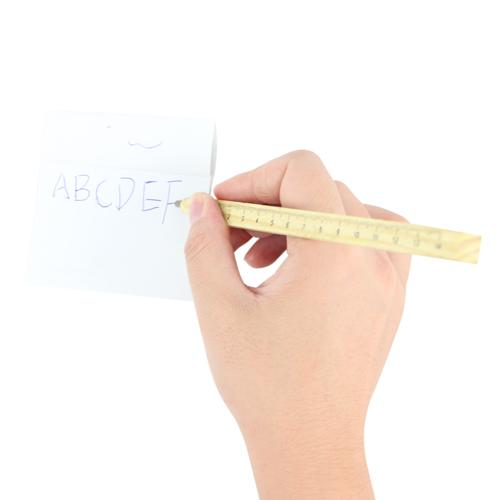 Wooden Ruler Ballpoint Pen