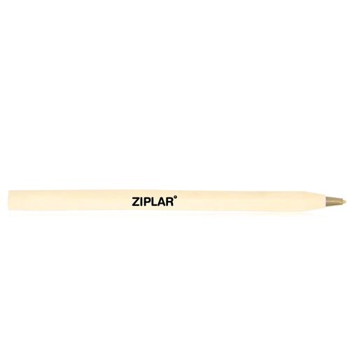 Round Wooden Ballpoint Pen Image 1