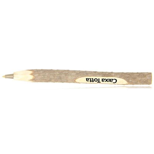 Pine Wooden Ballpoint Pen Image 1