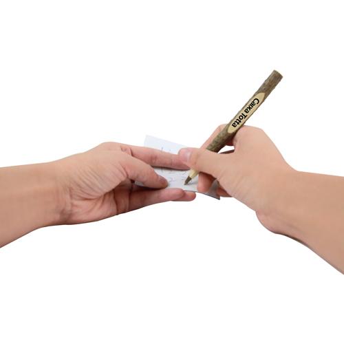 Pine Wooden Ballpoint Pen Image 3