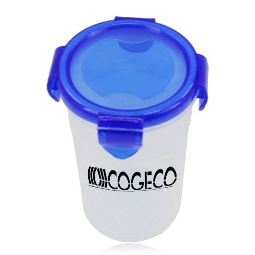 Cup with Lock-Up Lid