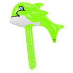 Inflatable Dolphin Fish Hammer With Jingle Bell