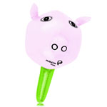 Inflatable Pig Head Stick