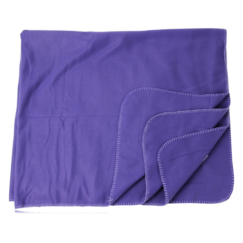 Polar Fleece Blanket With Edge Stitched