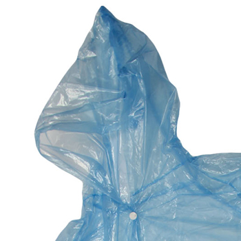 Disposable Adult Hood Raincoat