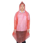 Disposable Drawstring Rain Coat