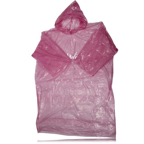 Disposable Drawstring Rain Coat