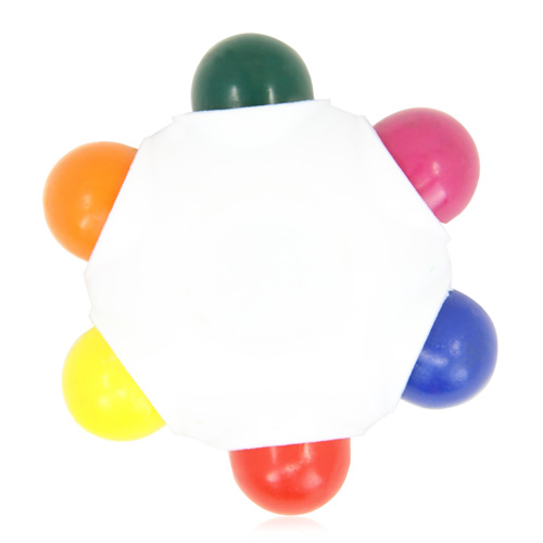 6 Color Craze Crayon Wheel