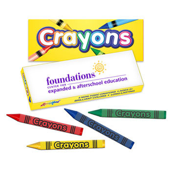 Premium Color Crayons Pack of 4