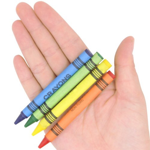 4 Pack Non-Toxic Color Crayons