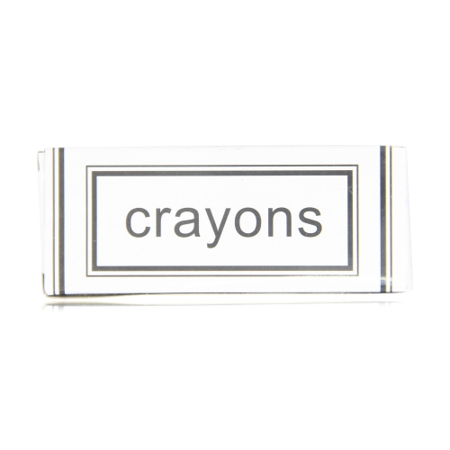 4 Pack Non-Toxic Color Crayons Image 8