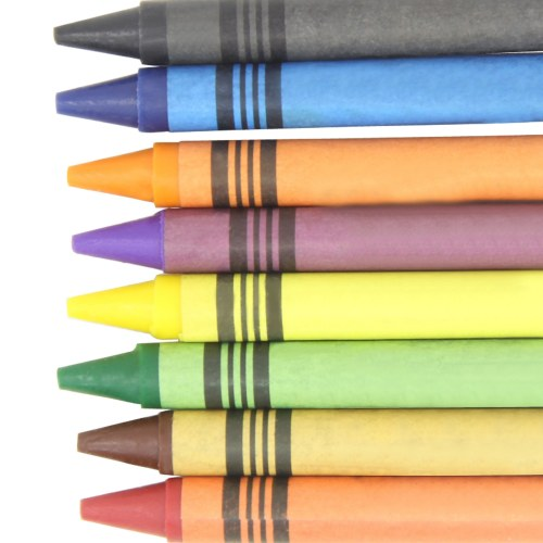 8 Set Colorful Non-Toxic Crayons