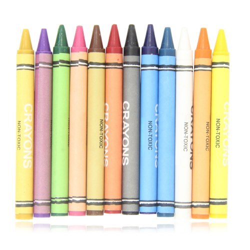 12 Color Crayon Set