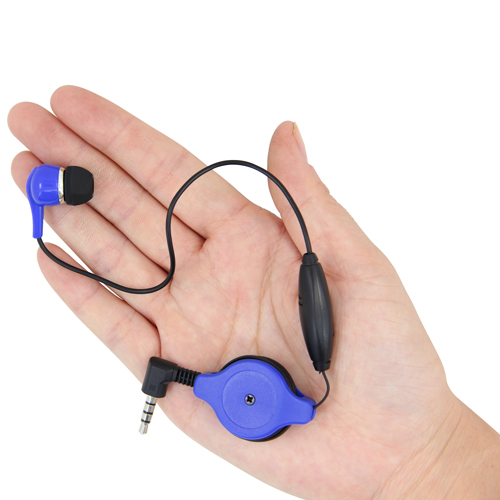 Hand Free Retractable Earbud