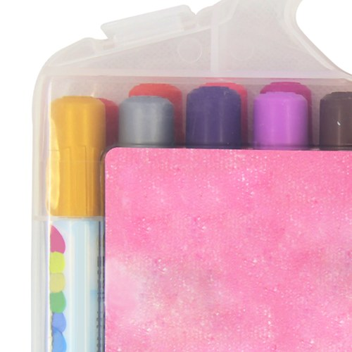 24 Crayons Coloring Pack Set